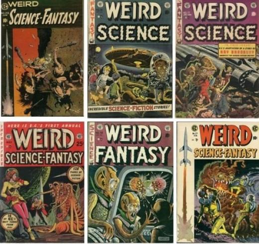 EC Comics' Covers