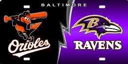 Baltimore Orioles and Ravens, Birdland, Maryland.
