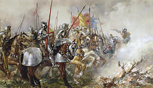 simple nationalism king and country in henry v hubpages king henry v at the battle of agincourt by sir john gilbert