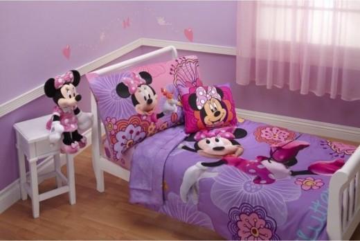 Minni Mouse Bedroom