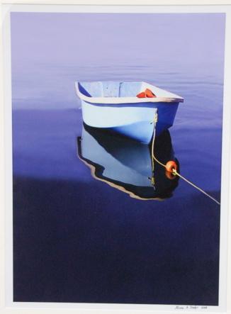 Boat dead in the water