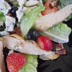 Strawberry Blueberry Chicken Salad