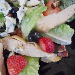Strawberry Blueberry Chicken Salad