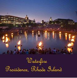 Waterfire Providence, Rhode Island