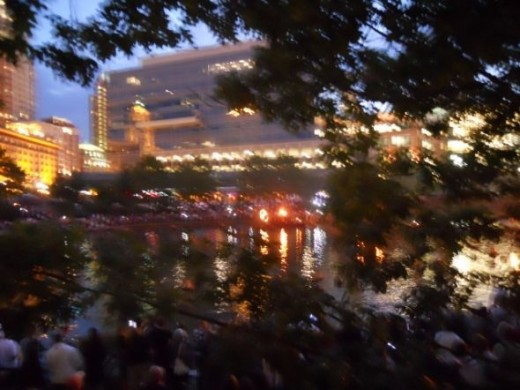 Waterfire Begins