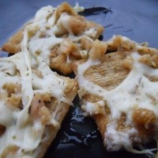 Clam Oreganato Crackers