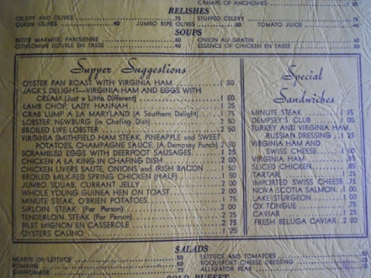 Another menu with milk fed chicken?  Hmmm.