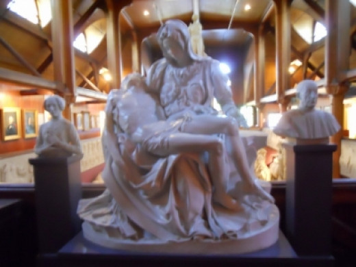 Casting of Michelangelo's La Pieta