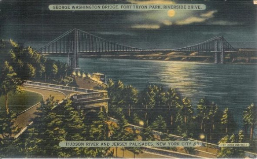 George Washington Bridge - 1940s