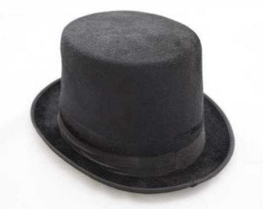 A nice black writer's hat