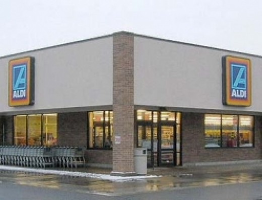 An Aldi grocery store