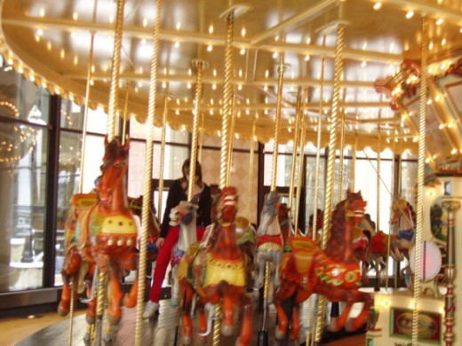 Spillman Carousel in Grand Rapids Public Museum, photo by Rich T. Anderson