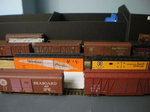 HO Scale freight cars