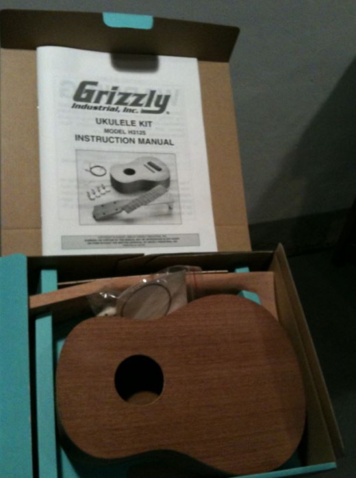 Ukulele Kit by Grizzly
