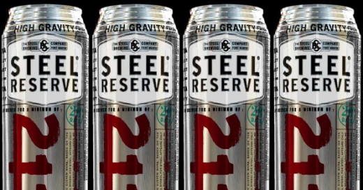 Steel Reserve - my favorite canned beer