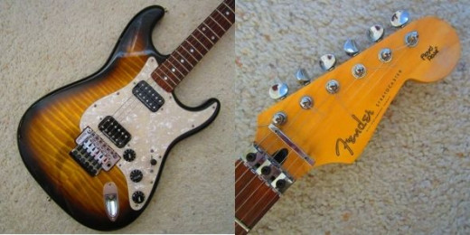 My Fender Stratocaster