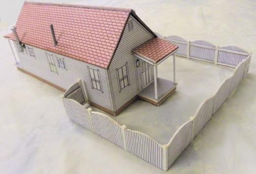 S Scale building plans