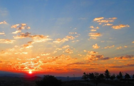 Sunrise over Sparks