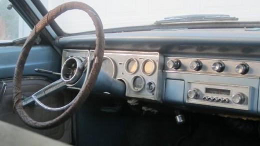Dashboard in my 64 Valiant wagon