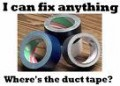 DUCT TAPE, EXTRA BATTERIES