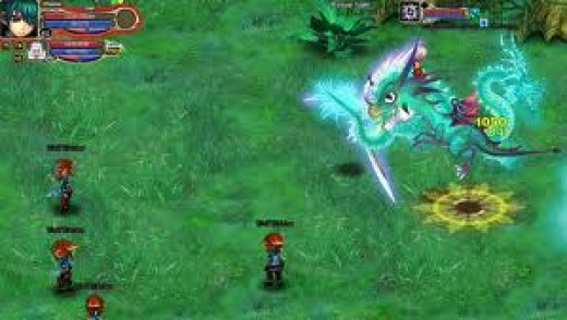 Crystalsaga is a popular browser based game