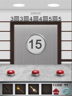 100 Floors Walkthrough - Floor 99