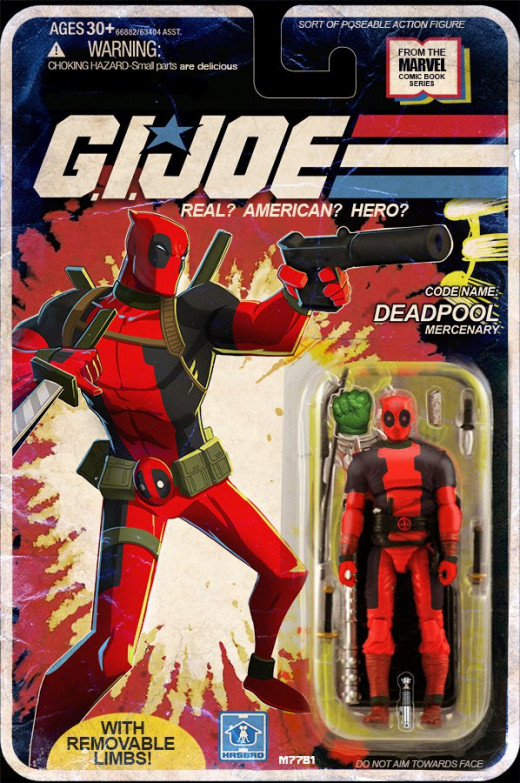 G. I. Joe Deadpool figure by Marco D'Alfonso