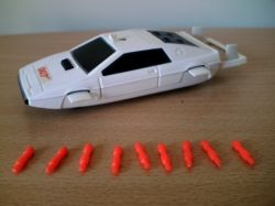 Corgi 007 Lotus Esprit from The Spy Who Loved Me