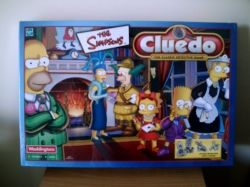 The Simpsons Cluedo