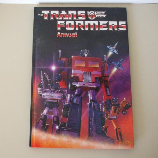The Transformers Annual 1985 ( UK buyer in Yorkshire ) £ 4.50