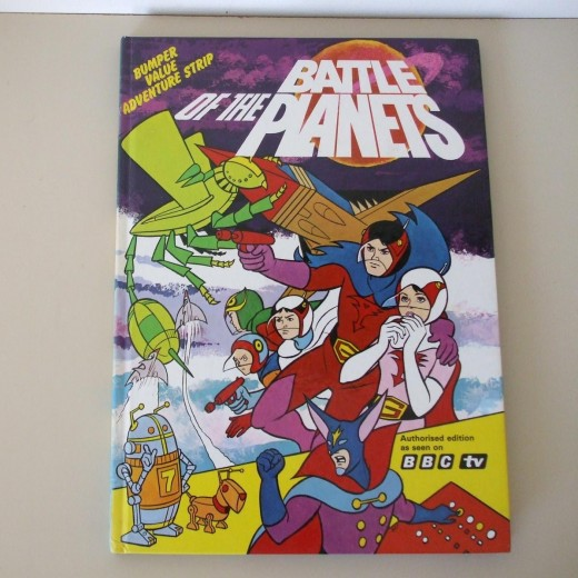 Battle of the Planets Annual 1980 ( UK buyer in Suffolk ) £ 4.50
