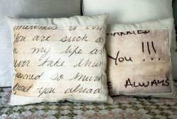 Good Tutorials for DIY Gifts Love Note Pillows