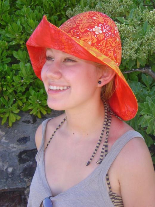 Sun Hat DIY Gift Under $10