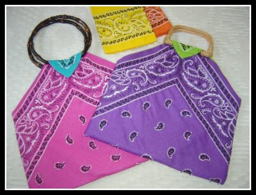 Bandana Totes DIY Gift