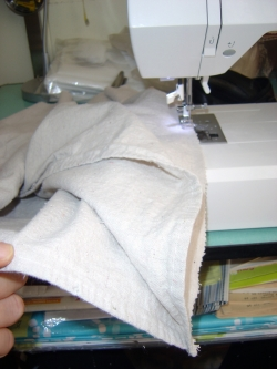 Sewing Canvas Drop Cloth