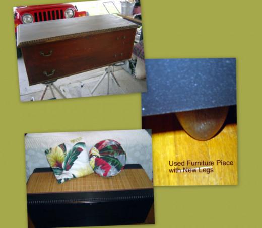 Used Furniture DIY Redos