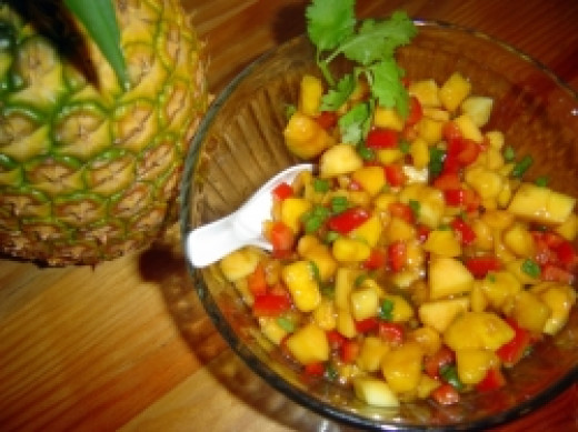 Easy to Make Mango Salsa