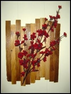 Decorate with Wood Shims