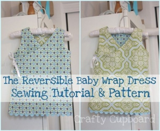Wrap Dress - Things to Make for Baby