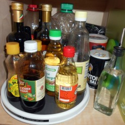 Kitchen Turntable Organizer