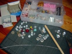 Funky Bracelet Materials