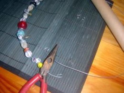 Loop Ends of Bracelet Wire