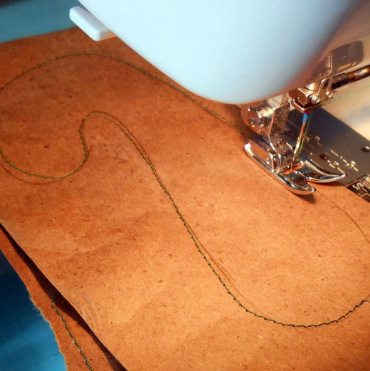 Sewing with Paper