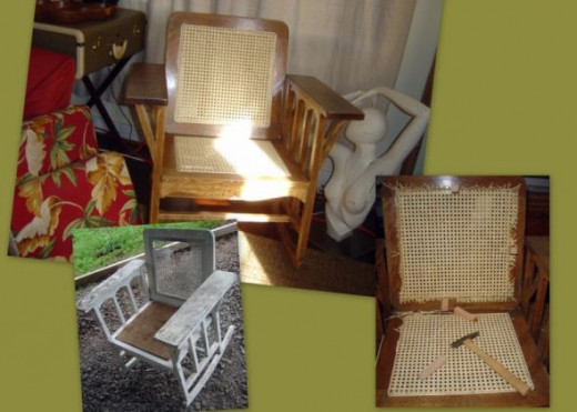Rocking Chair Redo DIY