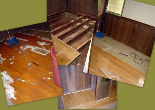 Removing Hardwood Flooring