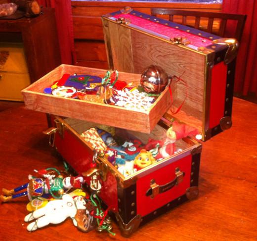 Our Ornament Treasure Chest