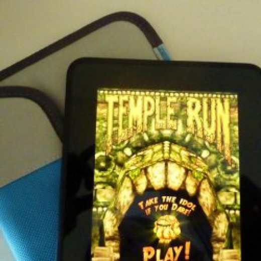 My Kindle Fire HD from Amazon