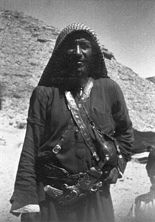A Bedouin Man In Riyadh, 1964.