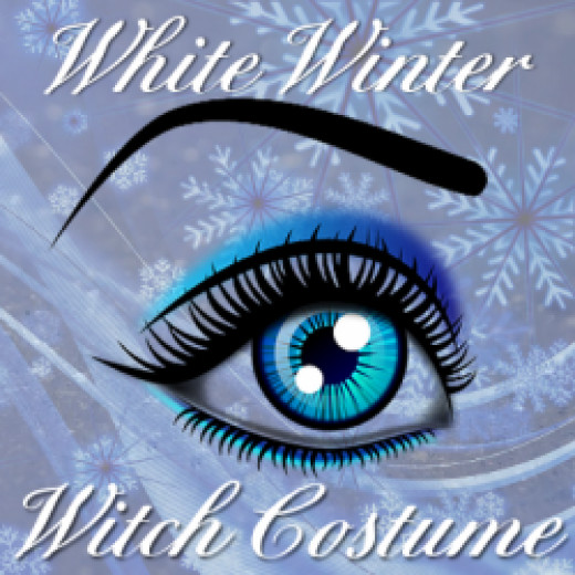 White winter witch costume and cosplay guide with lots of help from clothes, accessories and make-up.