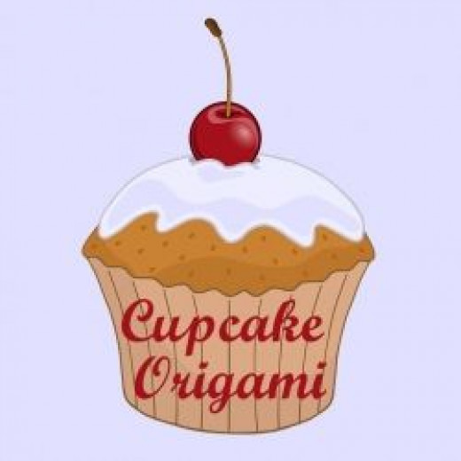 Cupcake paper folding and origami projects
